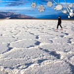 Salt Flat and Hexagons