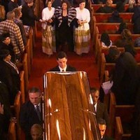 Bobbi Kristina Brown's Emotional Breakdown At Whitney Houston's Funeral