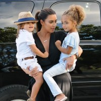 Feeling Broody? Kim Kardashian Surrounded By Kids On Outing With Kourtney