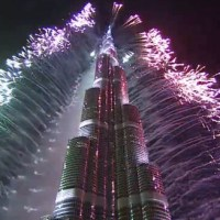 Dubai sees in New Year with largest fireworks display world record