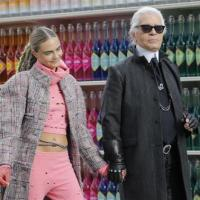Fashion: Chanel turns itself into a giant supermarket for fashion week