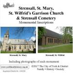 Another NEW MI – Strensall St. Mary, Strensall Garrison Church and Strensall Cemetery