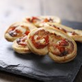Applewood and Roasted Red Pepper Palmiers