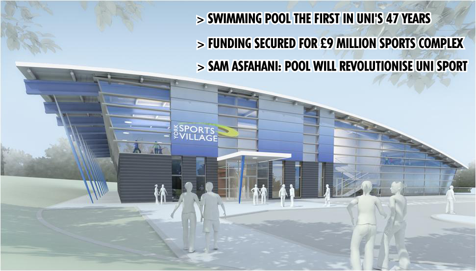 Plans For New Sports Village Announced York Vision