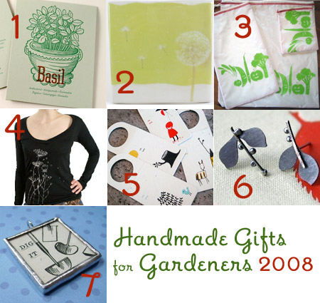 Handmade Gifts for Gardeners