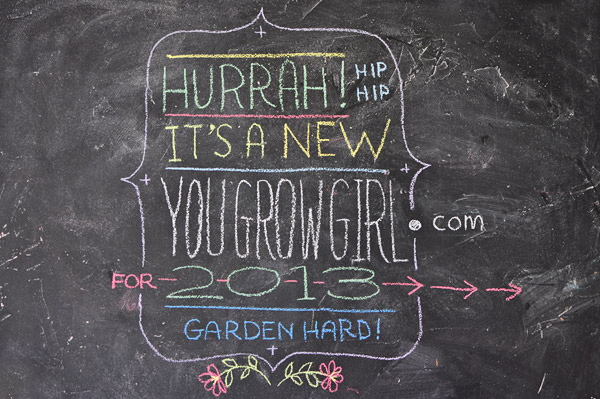 You Grow Girl redesign