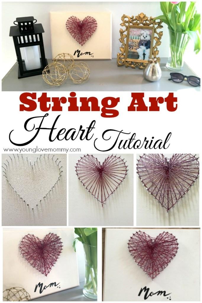 string art tutorial pinterest