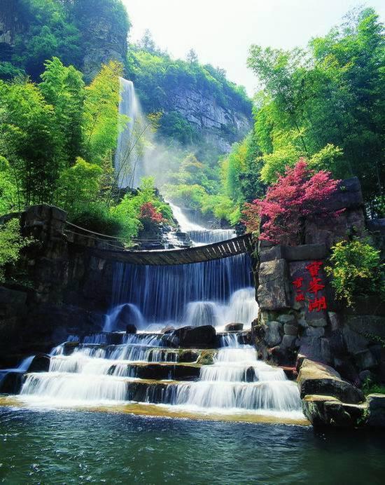 Spectacular scenery of Zhangjiajie, China