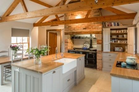kitchen in barn conversion rutland leicestershire 620x750