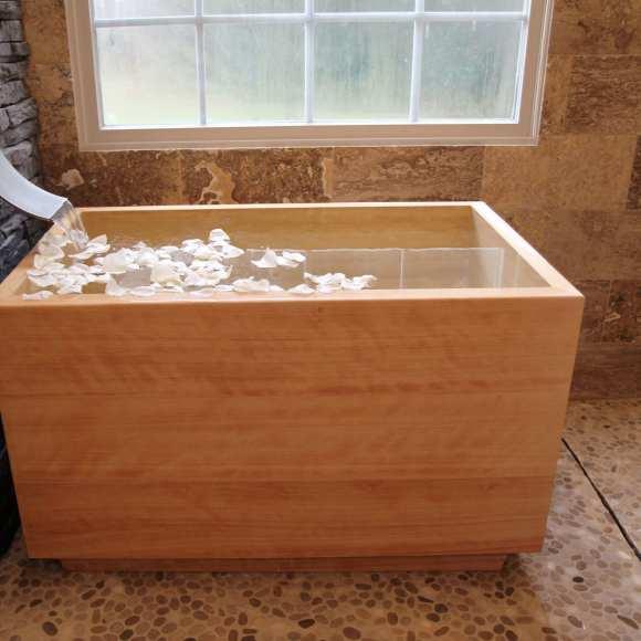Hinoki Ofuro Tub Luxury Bathroom Products
