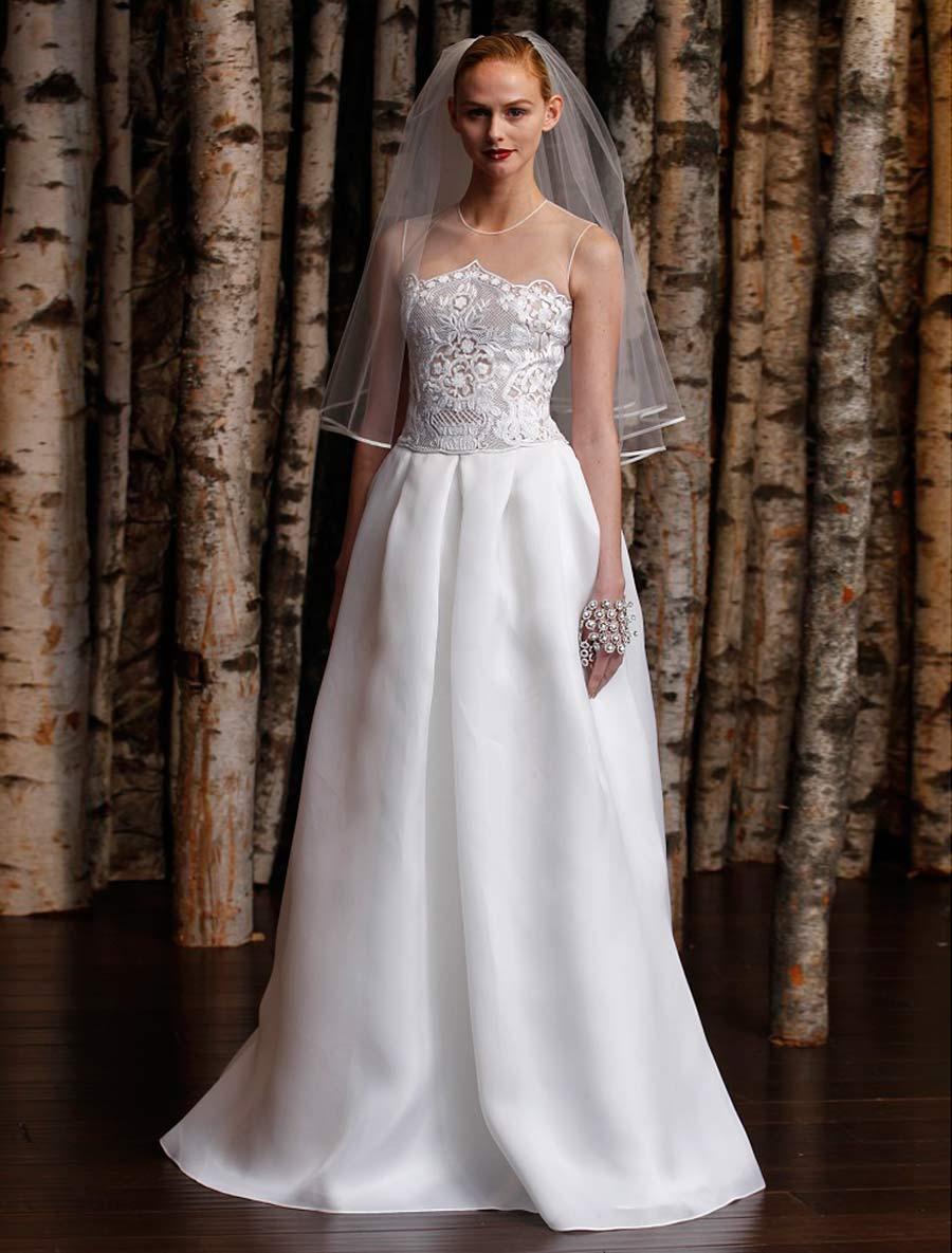 discount naeem khan wedding dress lisbon wedding dresses for sale Previous Next