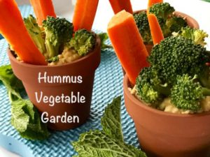 Your Family RD's Tuesday Tip- Hummus Vegetable Garden