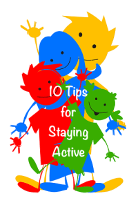 Your Family RD's Tuesday Tip- Staying Active with your Family