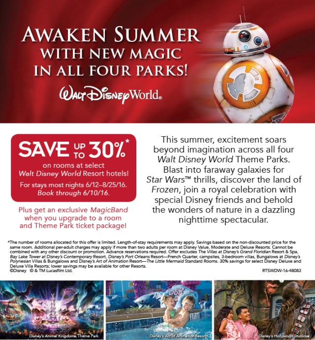 48083-RTSWDW-16 FY16 WDW Q3 AWAKEN SUMMER Room Offer - Web Page DOM retail