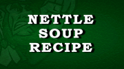 Irish Nettle Soup Recipe