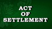 Restoration Act Of Settlement