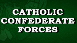 The Catholic Confederate forces battles