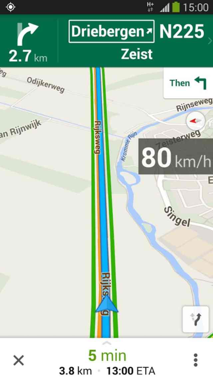 Maps tachimetro Google Maps