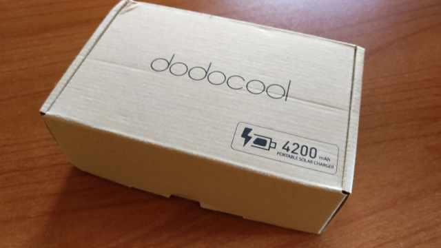 Dodocool Power Bank Solare 4200 mAh (1)