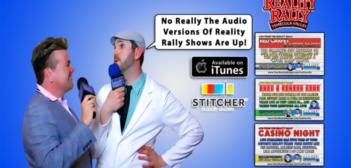 Audio Versions Of Our Reality Rally Shows Are Up!