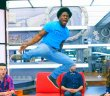 Godfrey Mangwiza celebrates his safety on BBCAN3 episode 14