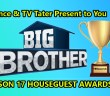 Vince and TV Tater present the BB17 Houseguest Awards