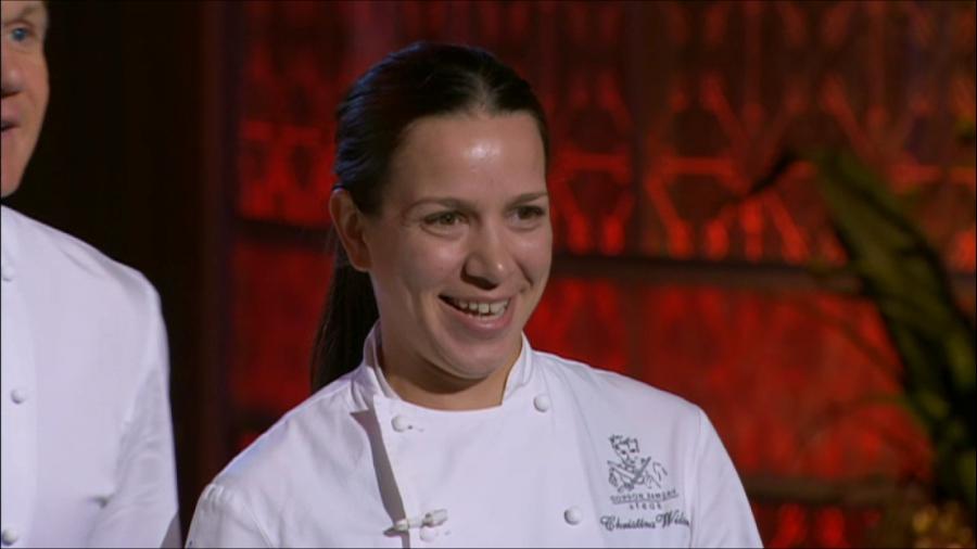 Hell Kitchen Christina Girlfriend
