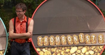 """Steve wins the Nose-A Scotia POV comp with the word """"trombonists"""" BB17"""
