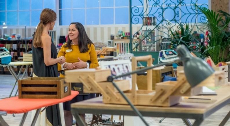 maestros de la costura segundo programa expulsion vanessa