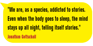 AddictedToStories-Jonathan Gottschall