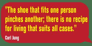 TheShoeThatFits-Carl Jung