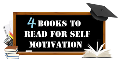 4 Books To Read For Self Motivation