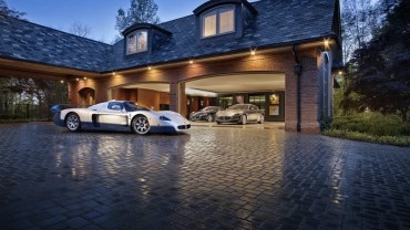Impressive Cars and Garages