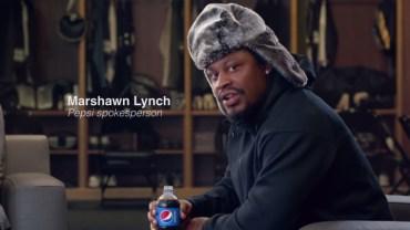 Funny Marshawn Lynch Pepsi commercial