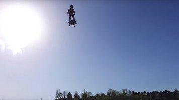 Flyboard Test Run