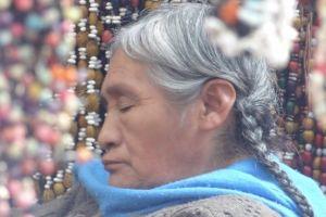 Mexique-San Cristobal de Las Casas: Sur le marché.
