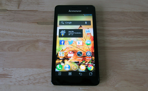 Lenovo K860 display