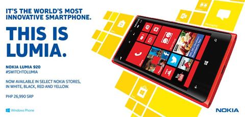 lumia 920 PH