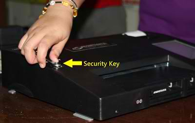 pcos security key