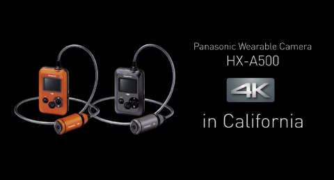 panasonic 4k wearable camera