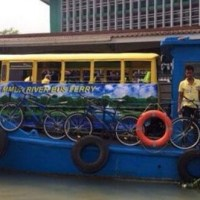 Boat and bus hybrid to ferry commuters on Pasig River