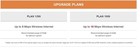 PLDT Ultera upgrade plans