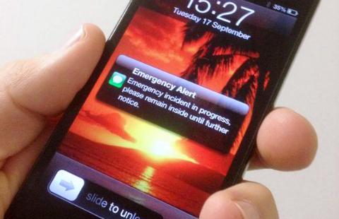 text alert