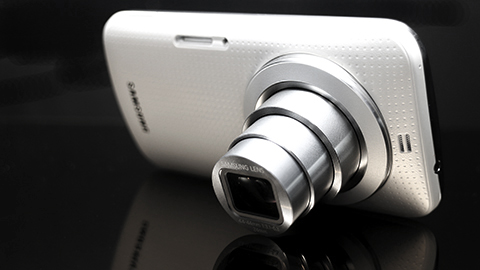 Samsung Galaxy K Zoom Back Angled
