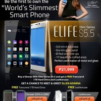 Gionee Elife S5.5 to go on sale for Php21,999