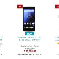 OnePlus One goes on sale at Lazada, starts at Php14,999