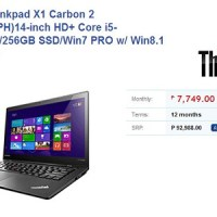 Lenovo Thinkpad X1 Carbon 2014 now on Villman for Php93k