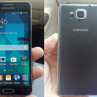 Leaked: Actual photos of the Samsung Galaxy Alpha