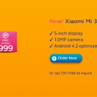 Globe offers Xiaomi Mi3 at Plan 999