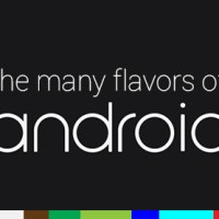 The flavors of Android through the years